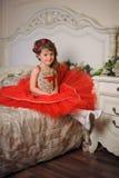smokingowy ilustracyjny princess czerwieni wektor Obrazy Stock