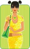 smokingowy kolor żółty Zdjęcia Royalty Free