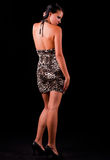 smokingowy krótki nastoletni Zdjęcie Royalty Free