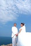 smokingowy ślub Zdjęcie Stock