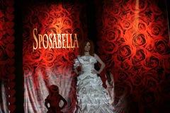 smokingowy mody kobiety modela przedstawienie ślub Zdjęcie Royalty Free