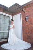 smokingowy panna młoda ślub Fotografia Stock