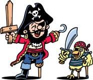 smokingowy pirat Fotografia Stock