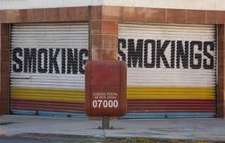 Smokings sign mexico Royalty Free Stock Photos