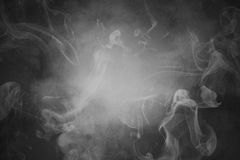 Smoky abstract background Royalty Free Stock Images