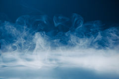 Smoky background and dense fog Stock Photos