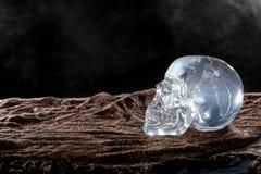 Smoky Crystal Skull Royalty Free Stock Photo
