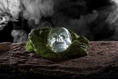 Smoky Crystal Skull Royalty Free Stock Photography