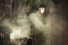 Smoky evening Royalty Free Stock Photo