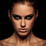 Smoky eye Royalty Free Stock Image