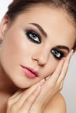 Smoky eyes Stock Photos