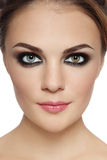Smoky eyes Royalty Free Stock Photo