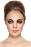 Smoky eyes Royalty Free Stock Photography