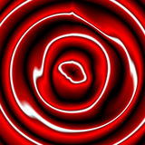 Smoky like red background with circles Royalty Free Stock Photography