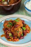 Smoky Mexican meatball stew Stock Photos