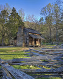 Smoky Mountain Cabin Stock Images