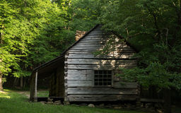 Smoky Mountain Cabin Stock Photo