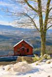 Smoky Mountain cabin with a view Royalty Free Stock Photography