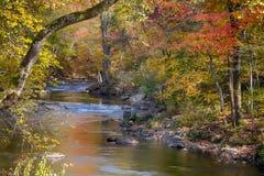 Smoky Mountain creek on an autumn day Royalty Free Stock Photos