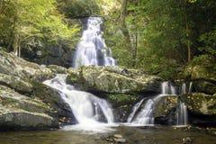 Smoky Mountain Fall Stream. A beautiful fall mountain stream in Smoky mountain National Park Stock Image