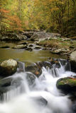 Smoky Mountain Fall Stream Stock Photo
