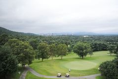 Smoky Mountain Golf Course Stock Photography