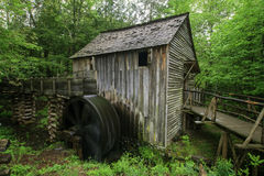 Smoky Mountain Grist Mill. A beautiful Grist Mill in Spring Royalty Free Stock Photo