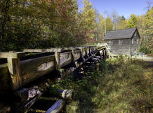Smoky Mountain Grist Mill. An old grist mill in Smoky Mountain National Park Royalty Free Stock Photo