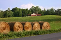Smoky Mountain haystacks Royalty Free Stock Photography