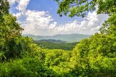 Smoky Mountain Horizon Royalty Free Stock Photography