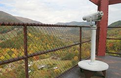 Smoky Mountain lookout Stock Images