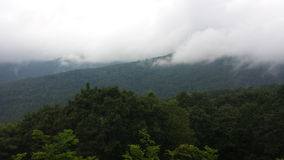 Smoky Mountain. Mist on the Smoky Mountains Royalty Free Stock Images