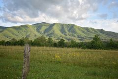 Smoky Mountain National Park Stock Photo