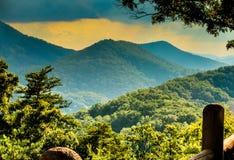 Smoky Mountain Overlook Royalty Free Stock Photo