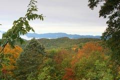 Smoky mountain scenery Stock Images