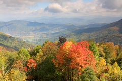 Smoky mountain scenery Royalty Free Stock Image