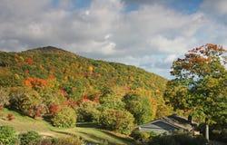 Smoky mountain scenery Stock Photo