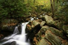 Smoky Mountain Splendor. Fall in the Smoky Mountains Stock Image