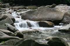 Smoky Mountain Stream Royalty Free Stock Photo