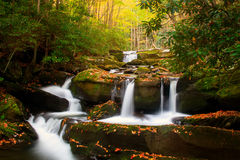 Smoky Mountain Waterfalls Royalty Free Stock Images