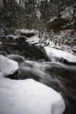 Smoky Mountain Winter Stream Stock Photography