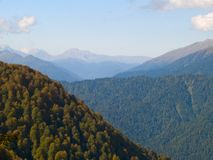 Smoky mountains Royalty Free Stock Images