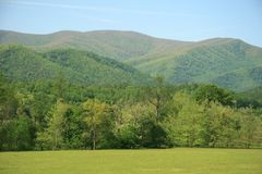 Smoky Mountains. Foothills of the Smoky Mountains stock photography