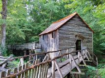 Cades Cove Grist Mill Stock Photos