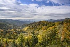 Smoky Mountains Landscape. Smoky Mountains in Tennessee, USA Stock Photos
