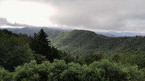 Smoky mountains Royalty Free Stock Photo