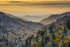 Smoky Mountains National Park Royalty Free Stock Photos