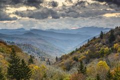 Smoky Mountains National Park Royalty Free Stock Images