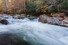 Smoky Mountains National Park, stream Stock Photos