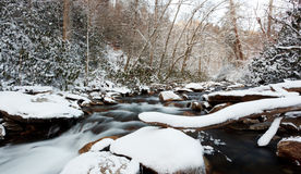 Smoky Mountains National Park, winter Stock Image